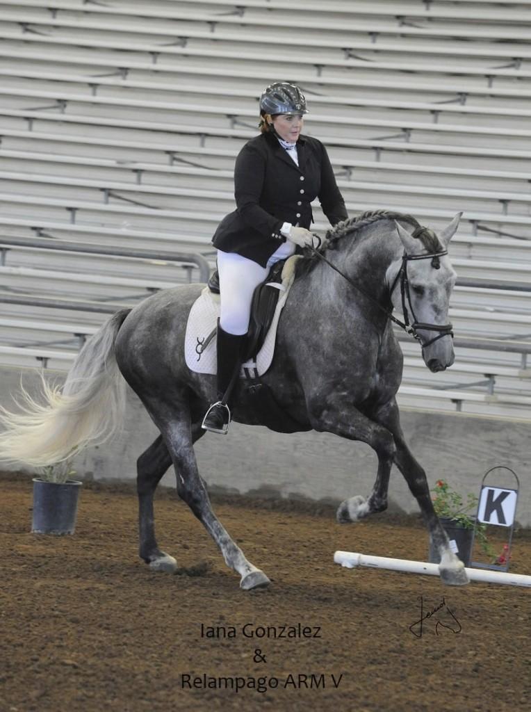 Iana Dresage -- US Para-Equestrian